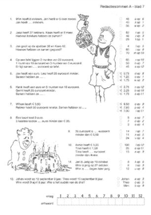 coreyn.nl | educatief materiaal > schoolmateriaal > rekenen