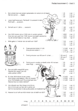 Redactiesommen Groep 8 Antwoorden