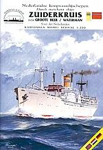 Victoryschip SS Zuiderkruis 1:250