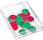Rekenfiches 2-zijdig rood/groen