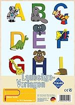 Figuurzaag voorbeeld letters A-I
