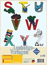 Figuurzaag voorbeeld letters S-Z