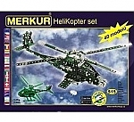 Merkur constructie helicopter set