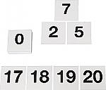 Cijferkaartjes tot 20