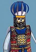 Hoge priester en Romeinse soldaat