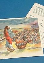 Jezus geeft 5000 mensen te eten