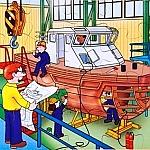 Techniek puzzel - scheepswerf