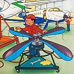 Techniek puzzel - hangar