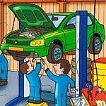 Techniek puzzel - autowerkplaats