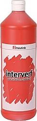 Gouache Interverf - 1 Liter Rood