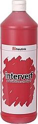 Gouache Interverf - 1 Liter donkerrood