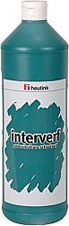 Gouache Interverf - 1 Liter donkergroen