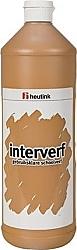 Gouache Interverf - 1 Liter lichtbruin