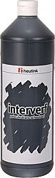 Gouache Interverf - 1 Liter zwart