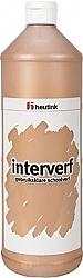 Gouache Interverf - één Liter brons