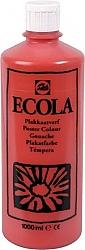 Gouache Ecola 1000 ml scharlakenrood
