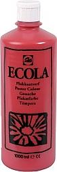 Gouache Ecola 1000 ml karmijnrood