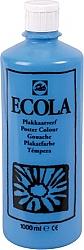 Gouache Ecola 1000 ml lichtblauw