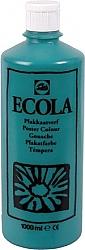 Gouache Ecola 1000 ml donkergroen