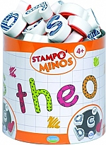 Stampo Minos Alfabet kleine letters   vanaf 4 jaar
