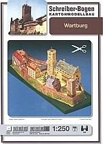 Kasteel Wartburg Schaal 1 : 250