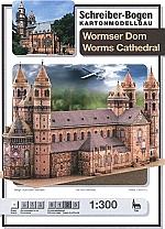 Wormser Dom Schaal 1 : 300