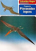 Vliegende Sauriër Pteranodon ingens
