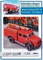 Magirus-Deutz TLF 16 brandweerauto