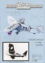 """Focke Wulf F 19A """"Ente"""""""