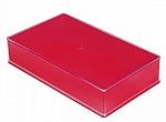 Kunststof doos 10 rood