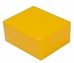 Kunststof doos 13 geel