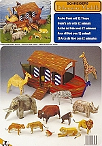 De ark noach met 12 dieren