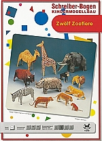 twaalf dierentuin dieren