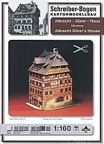 Albrecht Dürer Haus Nürnberg 1:160