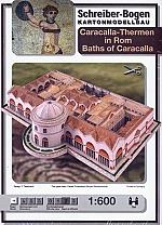 Caracalla Thermen in Rome 1:600