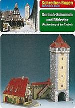 Gerlach-Schmiede und Rödertor Rothenburg