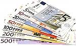 Euro biljetten assortiment
