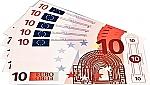 Euro biljetten 10 euro