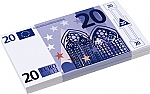 Euro biljetten 20 euro