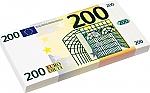 Euro biljetten 200 euro