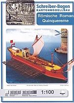Romeinse Quinquereme 1:100