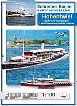Bodensee raderstoomboot Hohentwiel