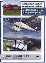 De Havilland DH89 Dragon Rapide 1:24