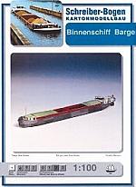 Binnenschiff Barge