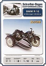 BMW Motor R 16 met zijspan