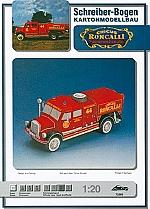 Roncalli brandweerauto