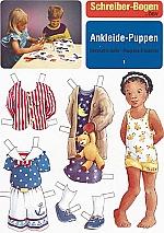 Aankleed poppen Set 1