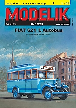 Fiat 621 L Poolse autobus