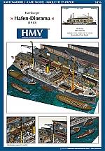 Hamburger Hafen-Diorama