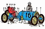 Maxwell 1913 en Locomobile 1906